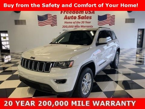 Pre-Owned 2018 Jeep Grand Cherokee Laredo 4WD 4D Sport Utility