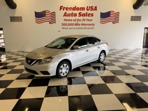 Pre-Owned 2017 Nissan Sentra S FWD 4D Sedan